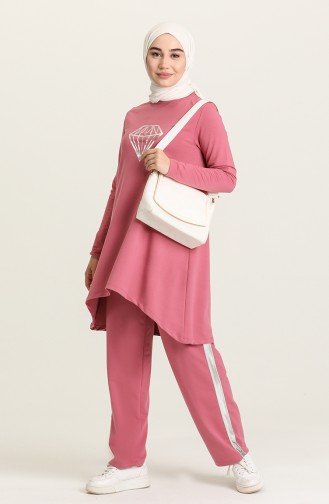 Dusty Rose Tracksuit 10316-02