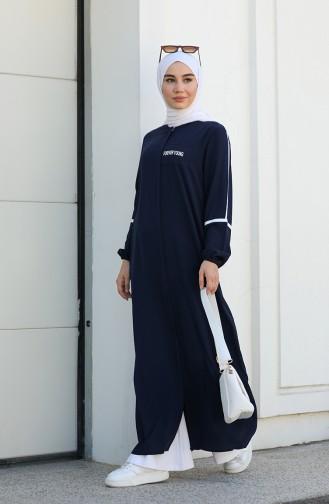 Abayas Bleu Marine 1907-03