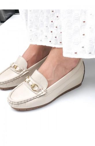 Chaussures de jour Beige 2000