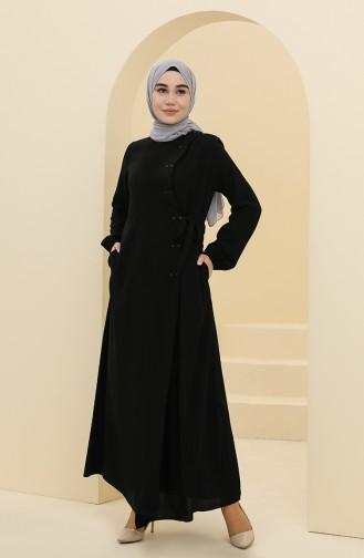 Black Abaya 5030-03
