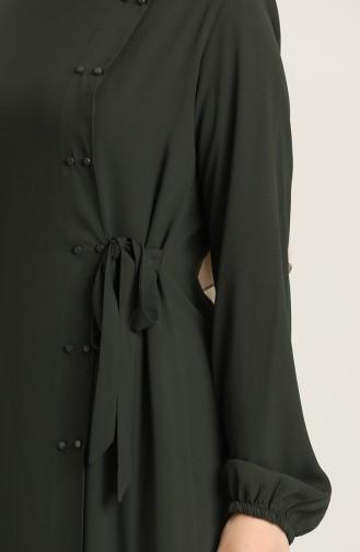 Khaki Abaya 5030-04