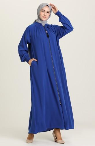 Saxon blue Abaya 0122A-07