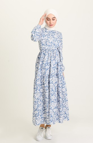 Indigo Hijap Kleider 5403-01