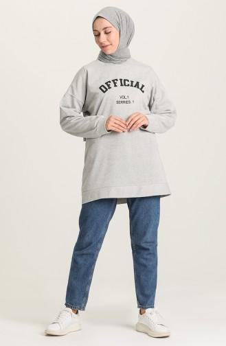 Gray Sweatshirt 1009-01