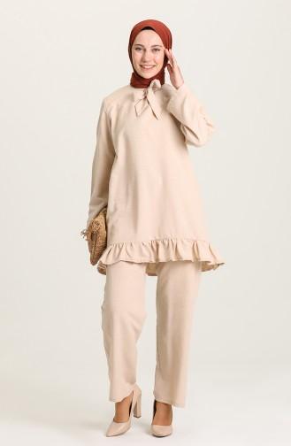 Beige Suit 0650-03