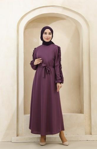 Violet Hijab Dress 1011-03