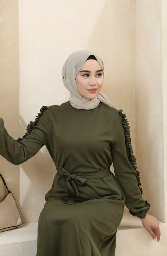 Robe Hijab Khaki 1011-06