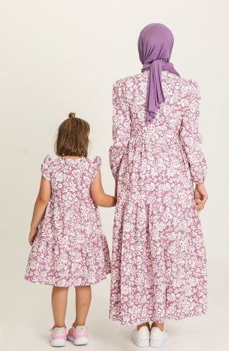 Robe Hijab Pourpre 5403-03