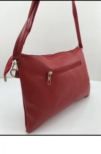 Red Portfolio Clutch 001253.KIRMIZI