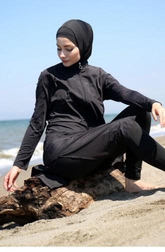 ملابس السباحة أسود 1092