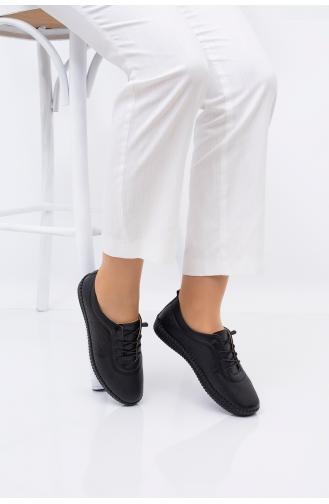 الأحذية الكاجوال أسود 5022-02