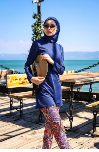 ملابس السباحة أزرق كحلي 1074