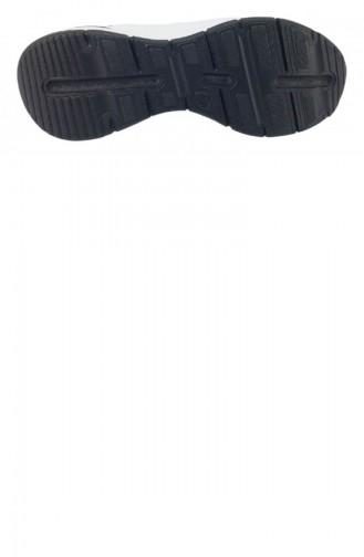 Chaussures de jour Blanc 8107