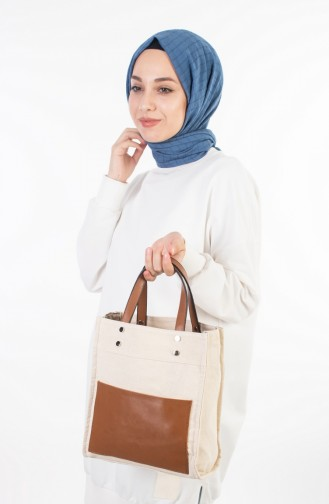 Tobacco Brown Shoulder Bag 6046-02