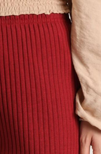 بنطال أحمر كلاريت 1330-09