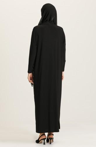 Gray Hijab Dress 2194-02