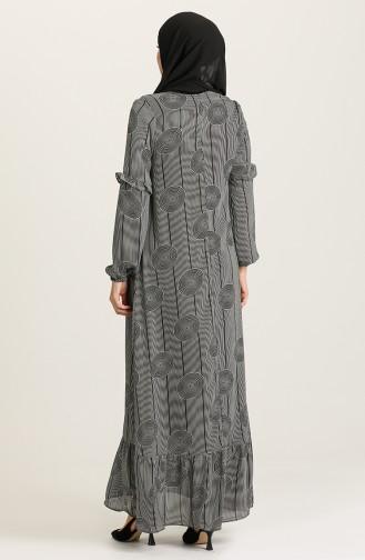 فستان أسود 21Y1507-01