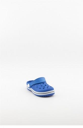 Blue Kid s Slippers & Sandals 3778.MM MAVI-BEYAZ-LACIVERT