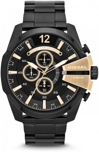 Black Wrist Watch 4338