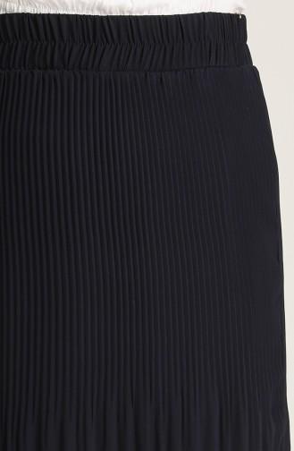 تنورة أزرق كحلي 3109-03