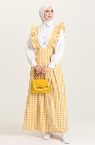 Mustard Gilet 1638-06
