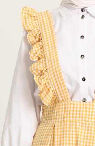 Yellow Gilet 1638D-01