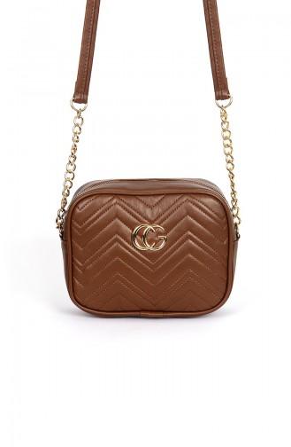 Tobacco Brown Shoulder Bag 110200