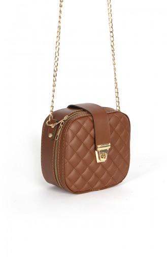 Tobacco Brown Shoulder Bag 110206