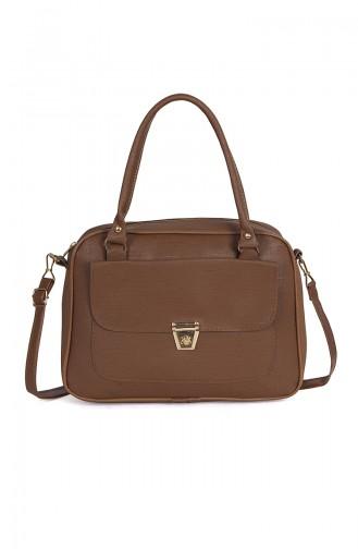 Tobacco Brown Shoulder Bag 110216