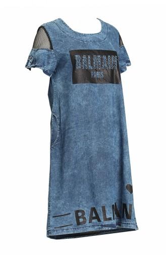 Jeans Blue Tuniek 0917-01