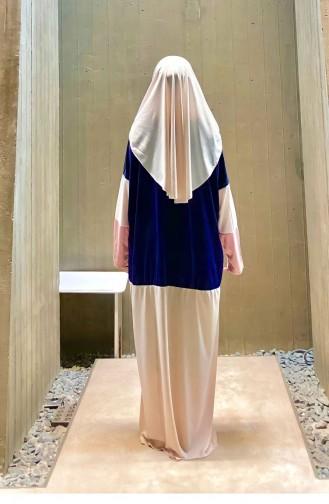 ملابس الصلاة بني مائل للرمادي 1853