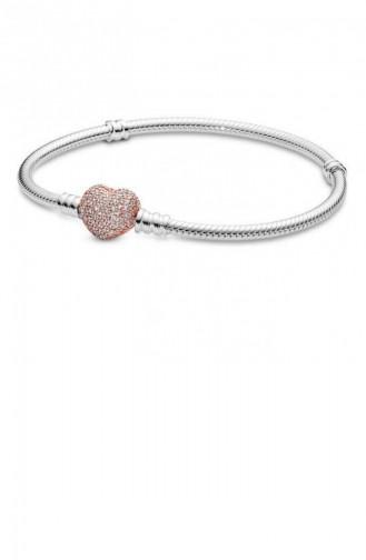 Silver Gray Bracelet 586292CZ-21