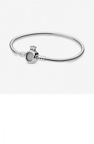 Silver Gray Bracelet 598286CZ-19