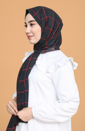 شال أسود 10080-01