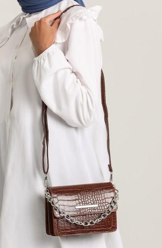 Tan Shoulder Bags 3607-19