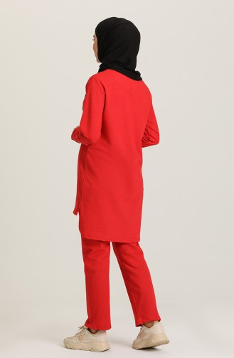 طقم أحمر 2401-03