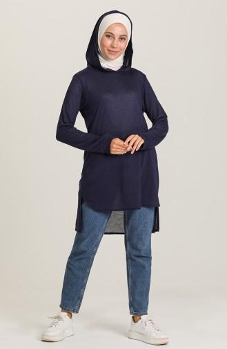 Navy Blue Tunics 1631-07