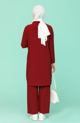 Claret Red Suit 4952-03