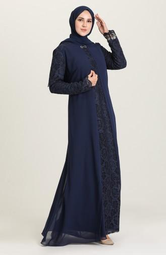 Claret red İslamitische Avondjurk 3002-01