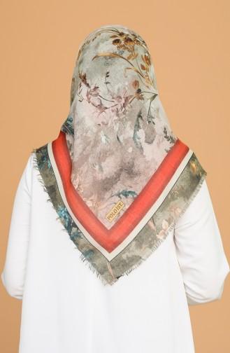 Echarpe Vert Nefti 11399-06