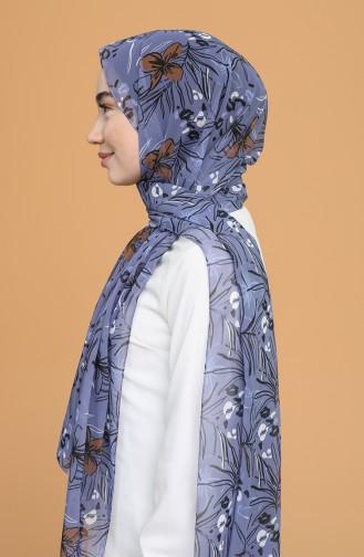 شال أزرق 688-104