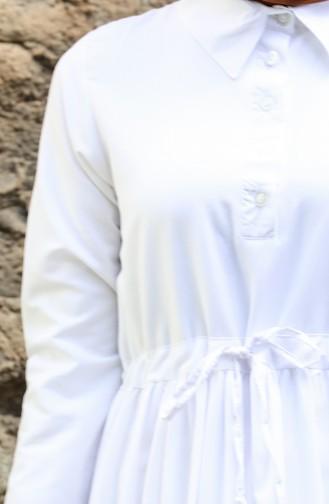 فستان أبيض 3467-03