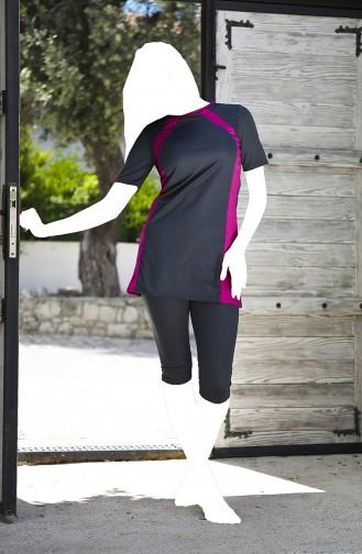 Light Black Swimsuit Hijab 128