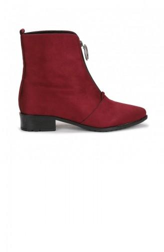 Claret Red Boots-booties 20KBOOTAYK00039_BR