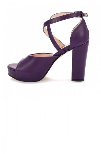 أحذية الكعب العالي أرجواني 20YTPKAYK000014_MO
