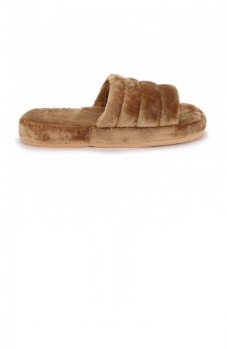 Chaussons Pour Femme Tabac 19KAYAYK0000108_TAB