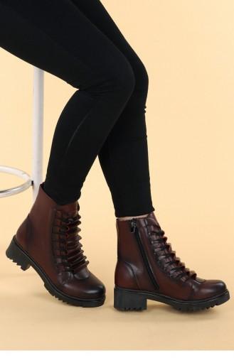 Claret Red Boots-booties 20KBOOTAYK00134_BR