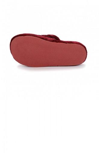 Claret Red Women`s House Slippers 20KTERAYK000007_BR