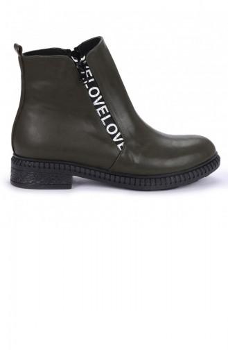 Khaki Boots-booties 20KBOOTAYK00146_F