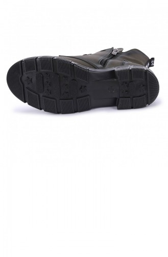 Khaki Boots-booties 20KBOOTAYK00125_F